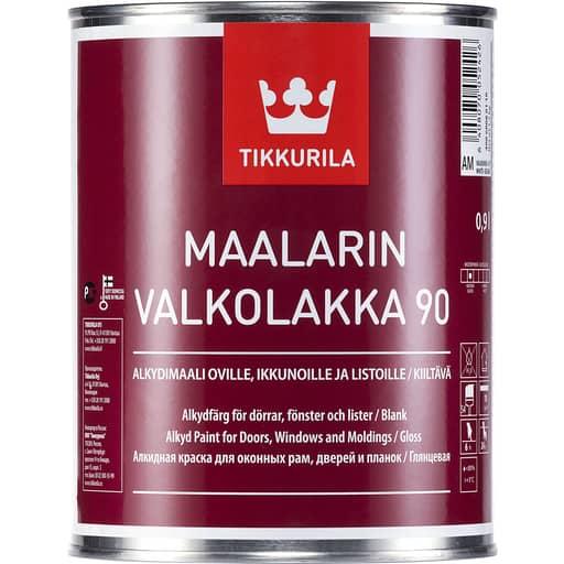 MAALARIN VALKOLAKKA KIILTÄVÄ VALKOINEN 0