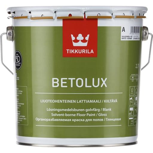 BETOLUX LATTIAMAALI VALKOINEN 2