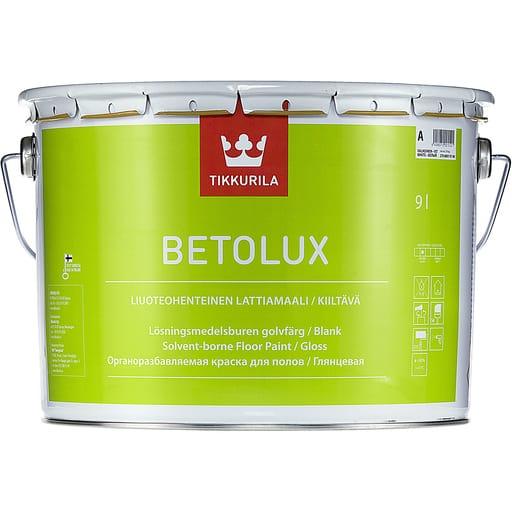 BETOLUX LATTIAMAALI VALKOINEN 9L