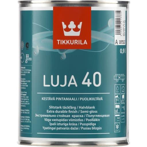 LUJA 40 PUOLIKIILTÄVÄ VALKOINEN 0