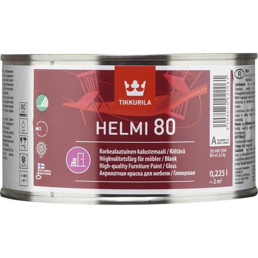 HELMI 80 KIILTÄVÄ VALKOINEN 0
