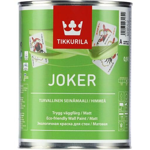 JOKER SEINÄMAALI VALKOINEN 0