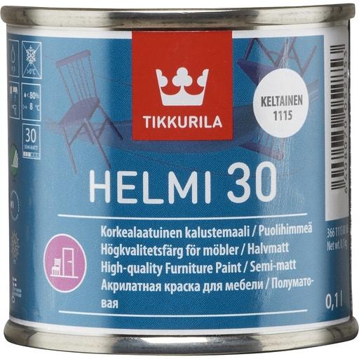 HELMI 30 PUOLIHIMMEÄ KELTAINEN 0