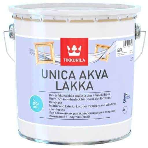 TIKKURILA UNICA AKVA LAKKA 2| Säästötalo Latvala