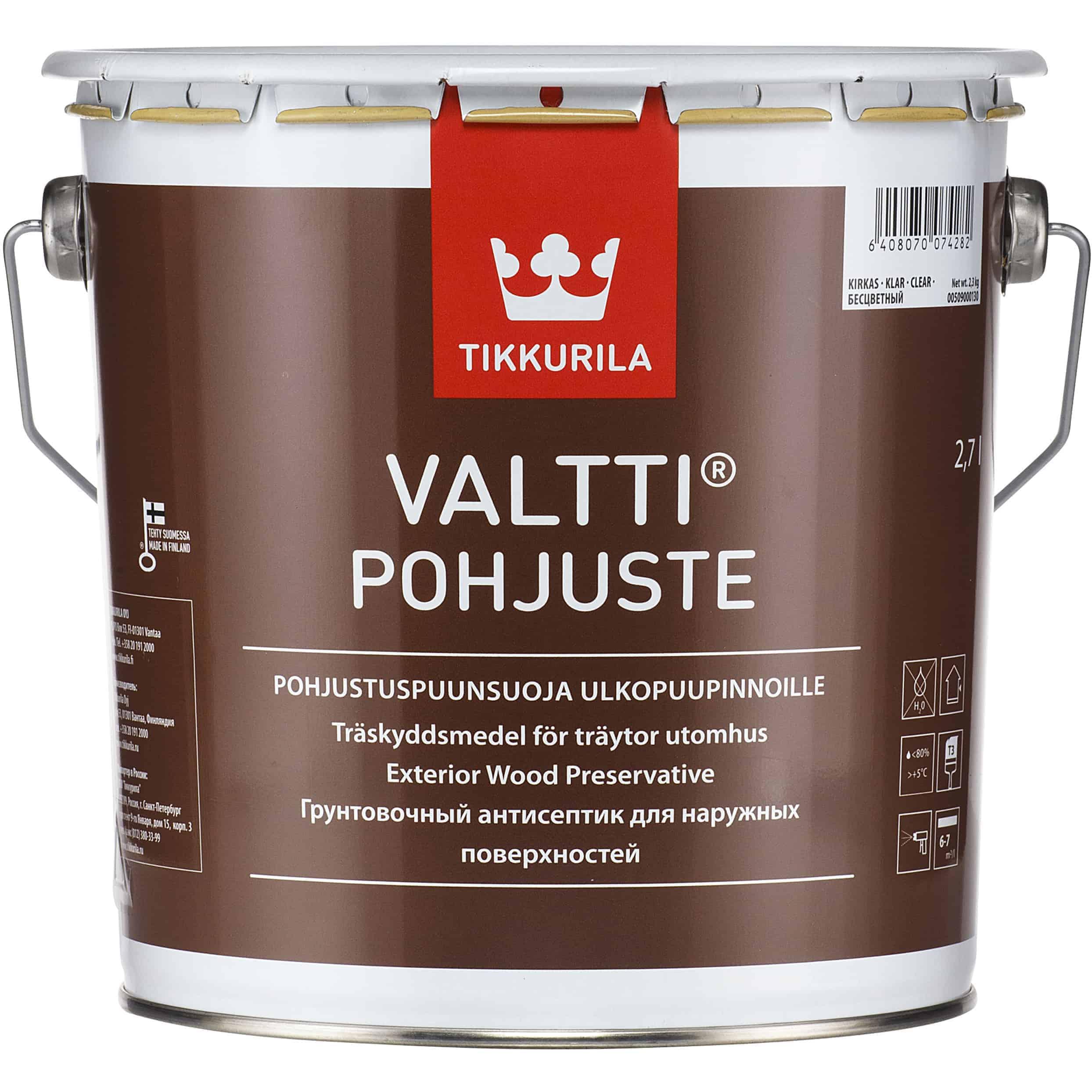VALTTI POHJUSTE VÄRITÖN 2