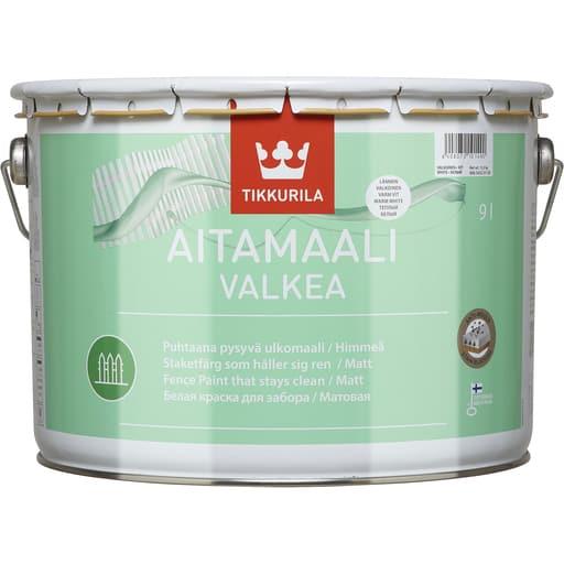 TIKKURILA AITAMAALI VALKEA 9L