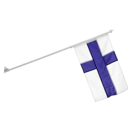 SUOMEN LIPPU SEINÄÄN 70x45CM