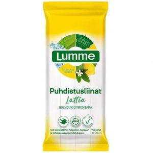 LUMME LATTIA PUHDISTUSLIINAT 15KPL
