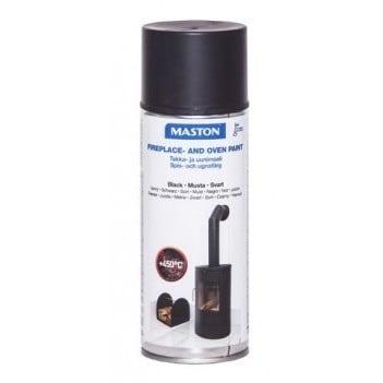 MASTON TAKKA- JA UUNIMAALI 450°C MUSTA 400ML