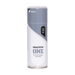 MASTON ACRYLCOMP POHJAMAALI HARMAA 400ML