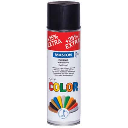 MASTON COLORMIX 25% MATTA MUSTA SPRAYMAALI