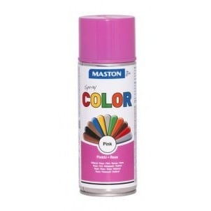 MASTON COLORMIX PINKKI SPRAYMAALI 400ML