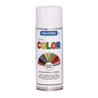 MASTON COLORMIX KERMANVALKOINEN SPRAYMAALI 400ML