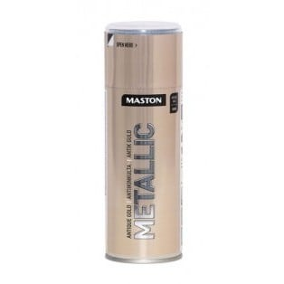 MASTON METALLIC ANTIIKKI KULTA SPRAY 400ML