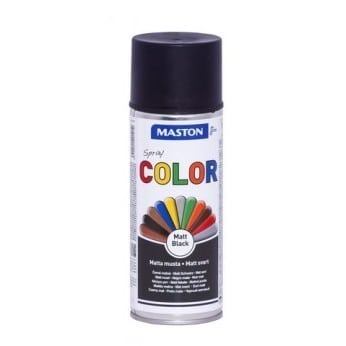 MASTON COLORMIX MATTA MUSTA SPRAYMAALI 400ML