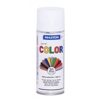 MASTON COLORMIX MATTA VALKOINEN SPRAYMAALI 400ML