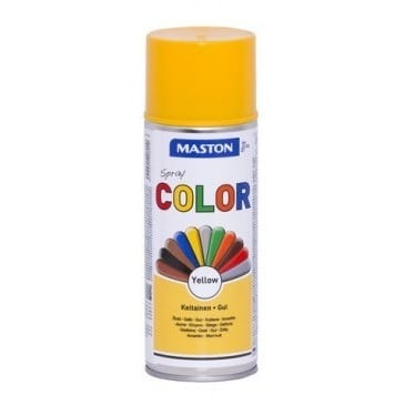 MASTON COLORMIX KELTAINEN SPRAYMAALI 400ML