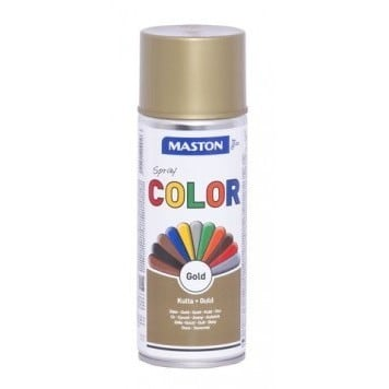 MASTON COLORMIX KULTA SPRAYMAALI 400ML