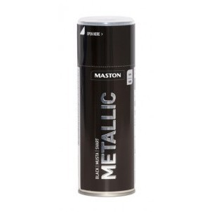 MASTON METALLIC MUSTA SPRAY 400ML