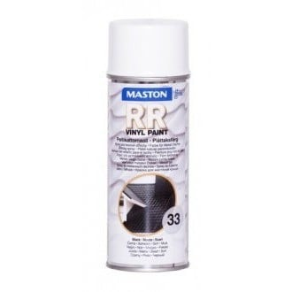 MASTON PELTIKATTOMAALI RR33 MUSTA SPRAY 400ML