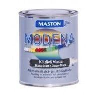 MASTON MODENA ALKYDIMAALI MUSTA 1L