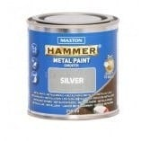 MASTON HAMMER SILEÄ METALLIMAALI HOPEA 250ML