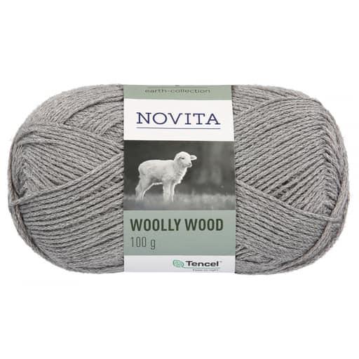 NOVITA WOOLLY WOOD 100G KIVI (043)