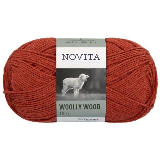 NOVITA WOOLLY WOOD 100G RUSKA (281)