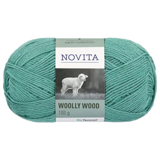 NOVITA WOOLLY WOOD 100G SALVIA (313)