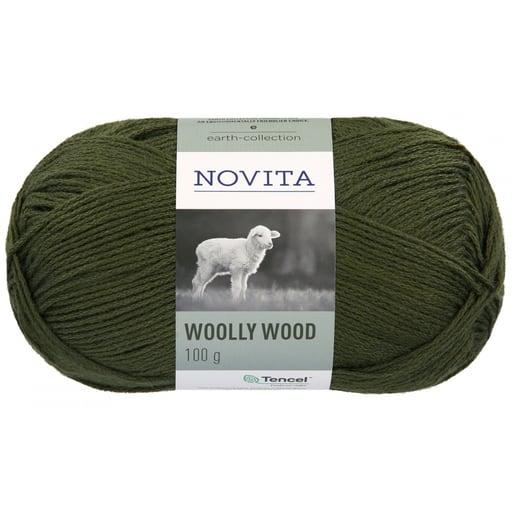 NOVITA WOOLLY WOOD 100G MÄNTY (384)