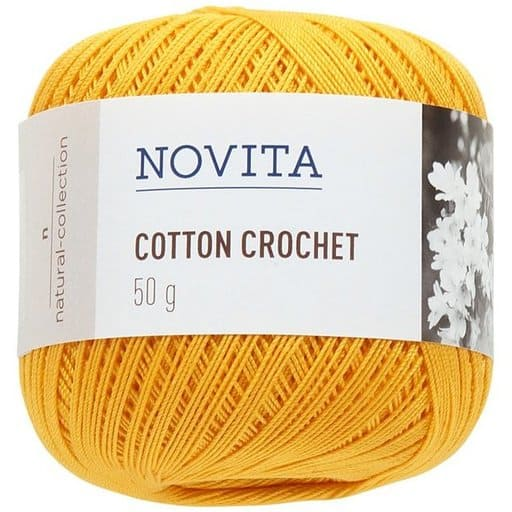 NOVITA COTTON CROCHET VOIKUKKA 50G (270)