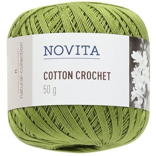 NOVITA COTTON CROCHET LEHMUS 50G (317)