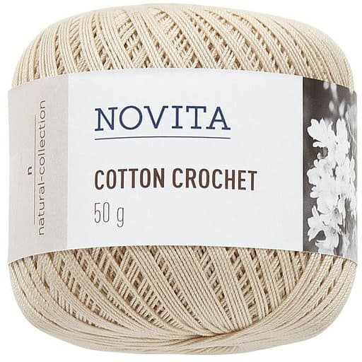 NOVITA COTTON CROCHET OLKI 50G (612)
