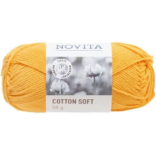 NOVITA COTTON SOFT AURINGONKUKKA 50G (269)