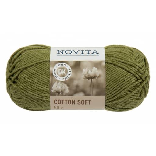 NOVITA COTTON SOFT LEHTI 50G (318)