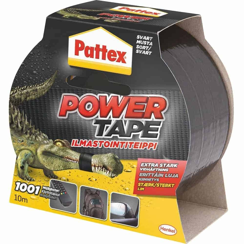 PATTEX POWER TAPE MUSTA 10M