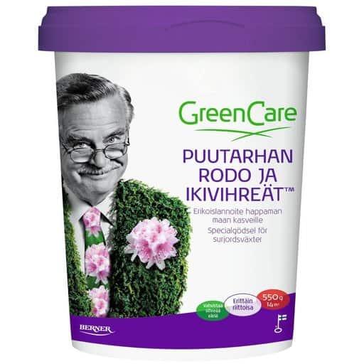 GREENCARE PUUTARHAN RODO JA IKIVIHREÄT 550G