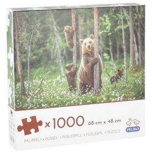 PALAPELI KARHUPERHE 1000 PALAA| Säästötalo Latvala