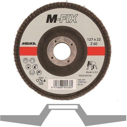 MIRKA LAMELLIHIONTALAIKKA M-FIX 127x22MM Z60