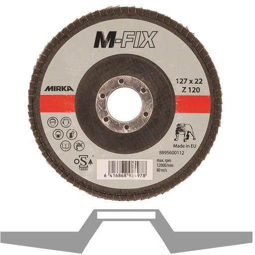 MIRKA LAMELLIHIONTALAIKKA M-FIX 127x22MM Z120