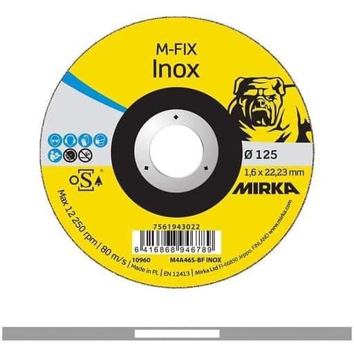 MIRKA KATKAISULAIKKA M-FIX INOX 1