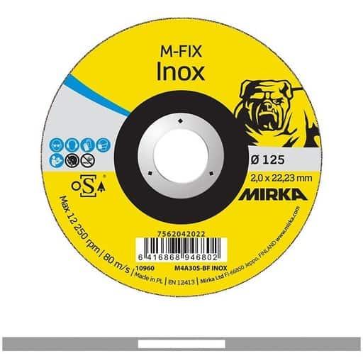 MIRKA KATKAISULAIKKA M-FIX INOX 2