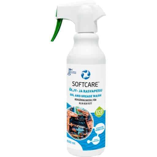 SOFTCARE ÖLJY- JA RASVAPESU 500ML