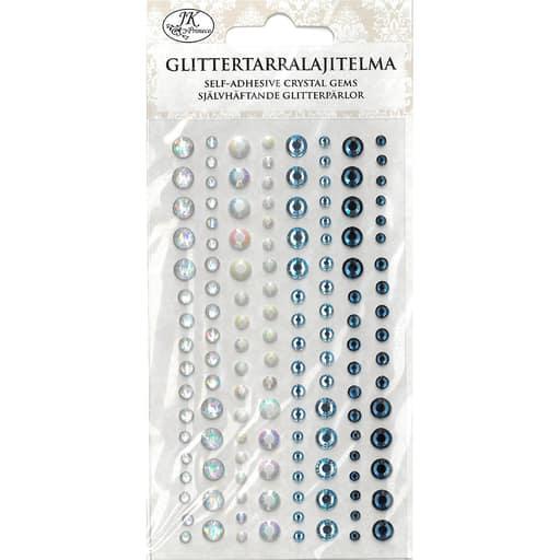 GLITTERTARRALAJITELMA SININEN/HOPEA