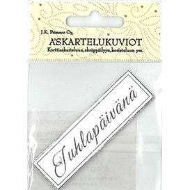 ASKARTELUKUVIO JUHLAPÄIVÄNÄ HOPEA 6KPL