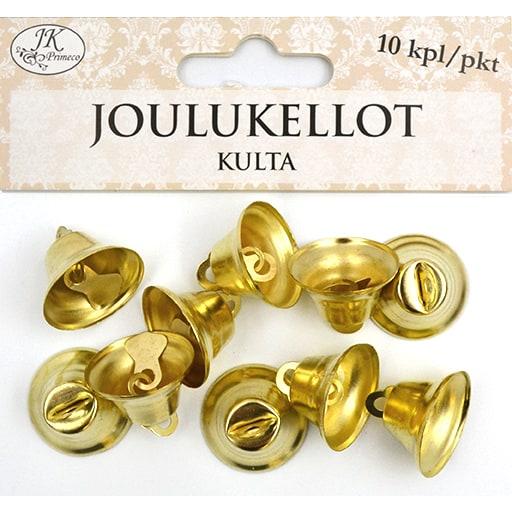 JOULUKELLOT KULTA 10KPL