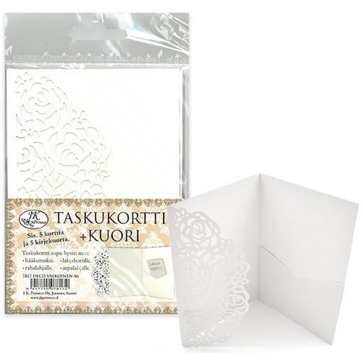 TASKUKORTTI + KUORI DECO A6 5+5KPL
