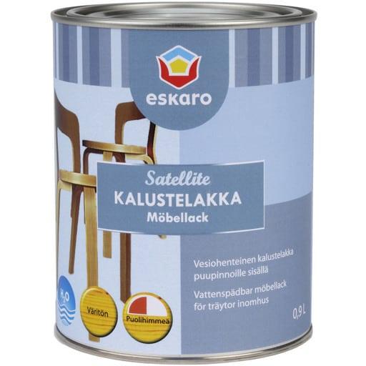 ESKARO SATELLITE KALUSTELAKKA KIILTÄVÄ 0