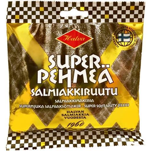 HALVA PEHMEÄ SALMIAKKIRUUTU 100G