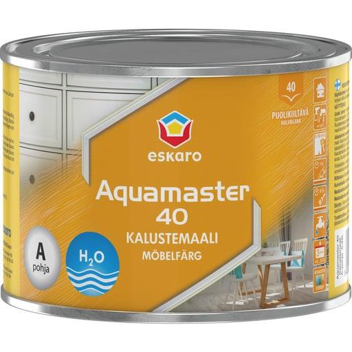 ESKARO AQUAMASTER 40 VALKOINEN KALUSTEMAALI 0